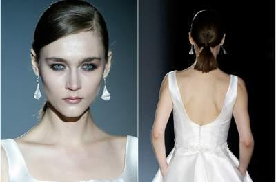 Toutes les tendances 2016 de coiffures pour mariées aux cheveux courts