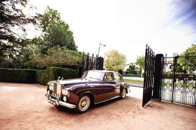 Transporte de casamento: desloque-se de A para B da forma mais elegante e clássica