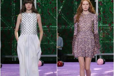 Glamour et sensualité sur les podiums des défilés Haute Couture Automne-Hiver 2015-2016