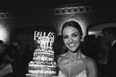 El cumpleaños de Paula Echevarría: ¡la mejor fiesta y perfecta a los 40 años!