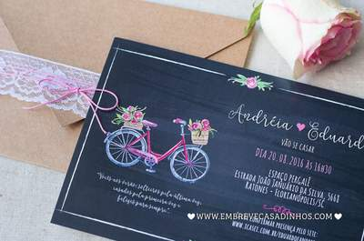 Convites de casamento 2017. Tome nota e convide com muito estilo!