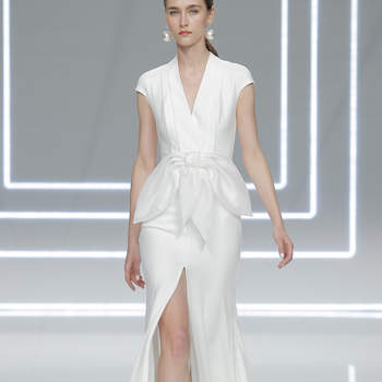 Rosa Clará. Credits: Barcelona Bridal Fashion Week
