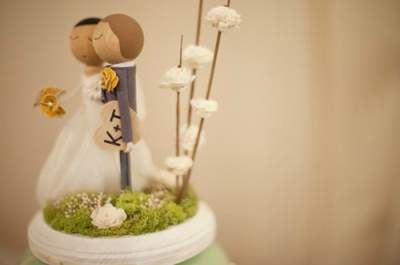 Are you sticking to tradition when it comes to cake toppers? Here's what we think