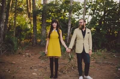 Un album prematrimoniale ispirato a Wes Anderson