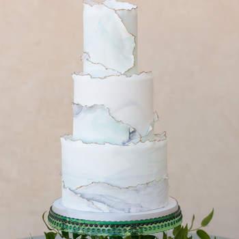 Inspiração para bolos de casamento de 3 andares | Créditos: SDK Photo & Design