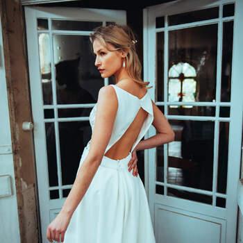Photo : Guillaume Gilles - Elsa Gary, robe de mariée Destinée