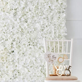Pared de flores componentes- Compra en The Wedding Shop