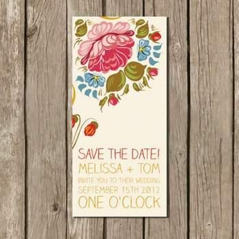 Save the Date à imprimer Boutique ByPopppyWithLove sur Etsy.com