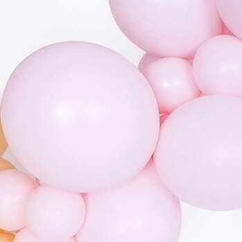 Ballons Rose Pastel Différentes Mesures - The Wedding Shop !