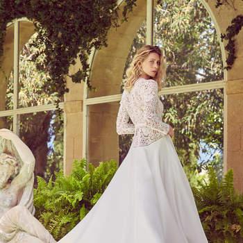 Robe de mariée collection Majesté modèle Perolla - Crédit photo: Margaux Tardits