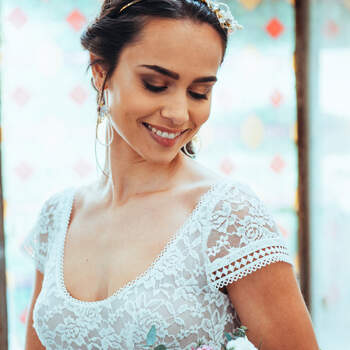 Photo : Guillaume Gilles - Elsa Gary, robe de mariée Jazz