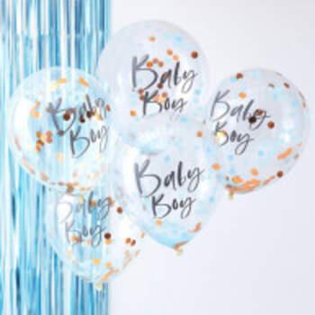 Ballons Baby Boy 5 Pièces - The Wedding Shop !