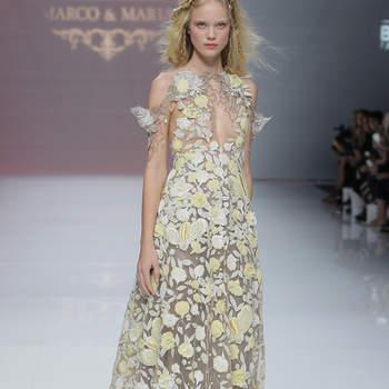 Marco& Maria. Credits: Barcelona Bridal Fashion Week