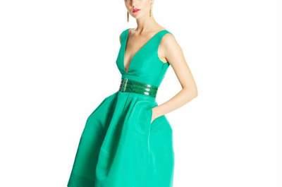 Oscar de la Renta Pre Fall 2015: Vestidos de festa vivos e coloridos para animar o frio