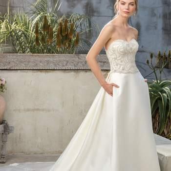 Style 2299 Sequoia. Credits- Casablanca Bridal.