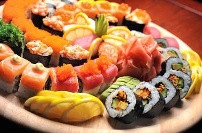 Sushi na weselnym stole! Świetny pomysł!