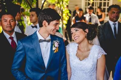 María José y Diego, un matrimonio lleno de magia y estilo