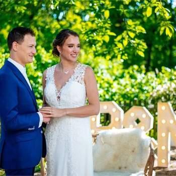 Boutique wedding in bohemian stijl: een huwelijksjubileum om nooit te vergeten!   Foto: Nufotograferen