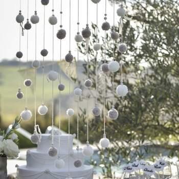 Baton Avec Pompons Décoratifs - The Wedding Shop !