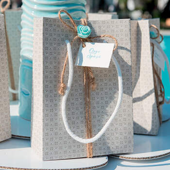Wedding Bags Gris 10 unidades- Compra en The Wedding Shop