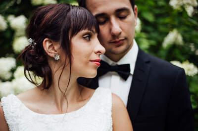 Eine Hochzeit im verwunschenen Herrenhaus nahe Berlin - So kreativ starteten Désirée und Paul ins Eheleben