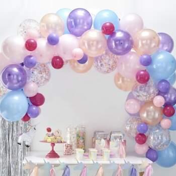Arc De Ballons Pastel 70 Pièces - Achetez sur The Wedding Shop !