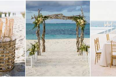 Dreamy Decorations for a Wedding by the Sea 2017