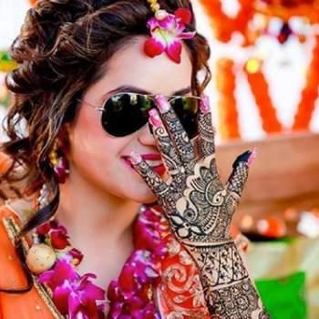 Desi bride with desi swag!