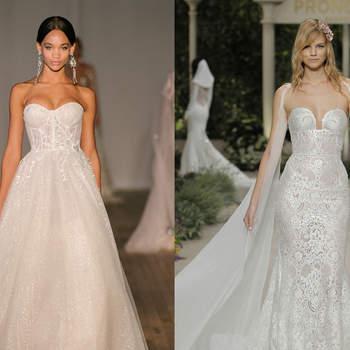 Berta Bridal. Credits: New York Bridal Week / Pronovias. Credits: Barcelona Bridal Fashion Week