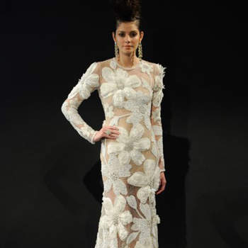 Créditos: Naeem Khan | New York Bridal Week