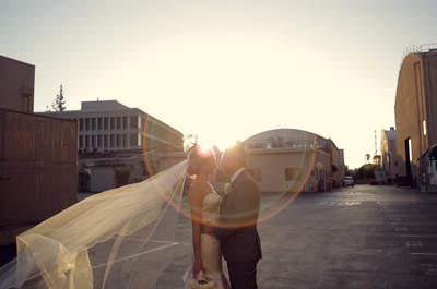 Off-Screen Romance: Lauren + Andy's Real Wedding at the CBS Studios Backlot