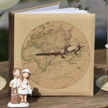 Libro De Firmas Viaje- Compra en The Wedding Shop