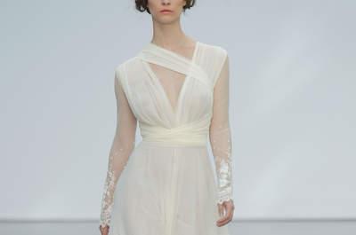 Vestidos de novia corte imperio. ¡Enamora con estos hermosos diseños!