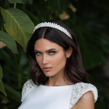 Vestido de noiva modelo Reed da coleção Pronovias 2021 Cruise Collection