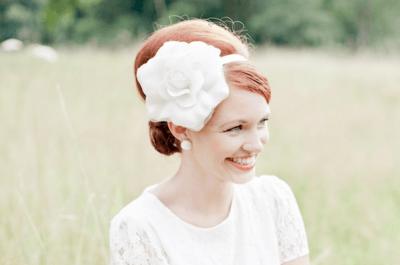 Brautfrisuren im 60er Jahre -Style