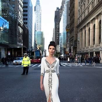 Suknie ślubne w kolorze! Modele, na które na pewno się skusisz.