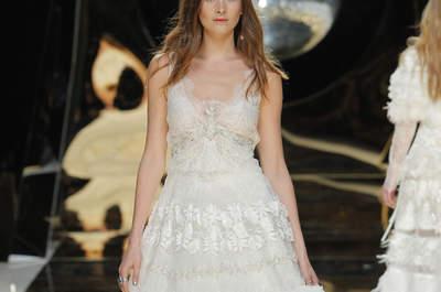30 bruidsjurken voor de zwangere bruid! Elegant en stijlvol!