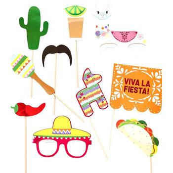 Photocall fiesta mexicana - 10 unidades - Compra en The Wedding Shop