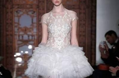 Colecção de vestidos de noiva Reem Acra Outono 2013: os nossos 10 modelos preferidos