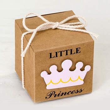 Caja De Cartón Little Princess 25 unidades- Compra en The Wedding Shop