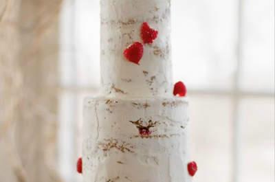 Originalidade: a tendência para bolos de casamentos do NY Bridal Week 2014