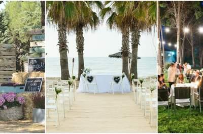 Los mejores 7 lugares para casarse en verano