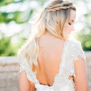 Cabelo de noiva solto   Credits: Kristin La Voie Photography