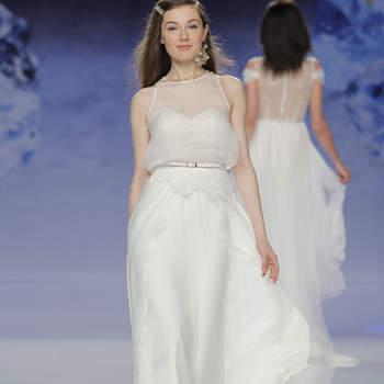 Inmaculada Garcia. Credits- Barcelona Bridal Fashion Week