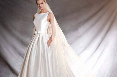 Vestidos de noiva com laço 2017: Romantismo absoluto!