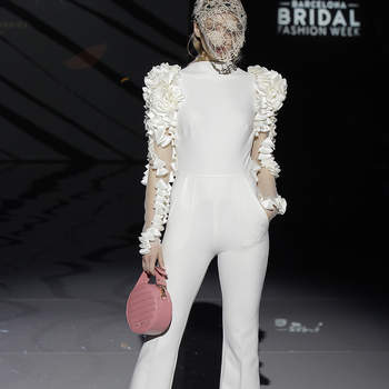 Isabel Zapardiez. Creidts: Barcelona Bridal Fashion Week