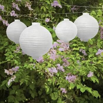 Lanterne De Jardin Avec Ampoule De 30cm - The Wedding Shop !