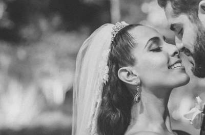 Aline & Marcelo: casamento clássico emocionante no Rio de Janeiro!