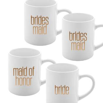 Tasse team bride 4 pièces -  The Wedding Shop !