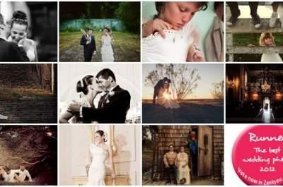 Votez pour la plus belle photo de mariage au monde 2012